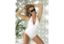 Celebrity Style Genuine Swarovski Crystal Halter Neck Swimsuit